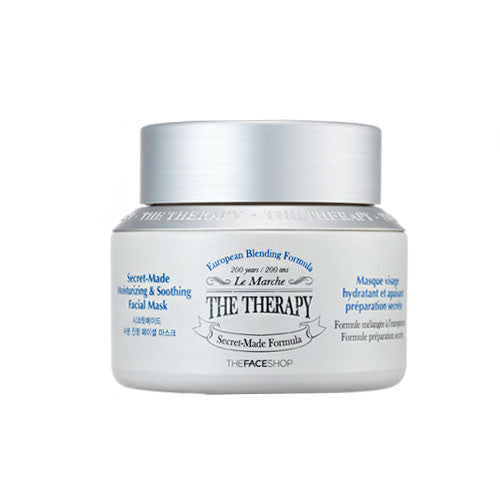[The Face Shop] The Therapy Secret Made Moisturizing & Soothing Facial Mask 120ml - Cosmetic Love
