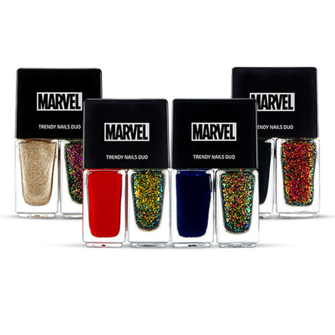 [The Face Shop] Trendy Nauks Bauk Duo (Marvel Edition) 4ml x 2colors