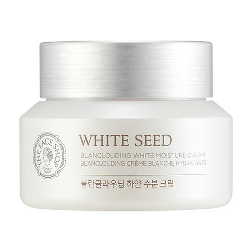 [The Face Shop] White Seed Blanclouding White Moisture Cream 50ml - Cosmetic Love