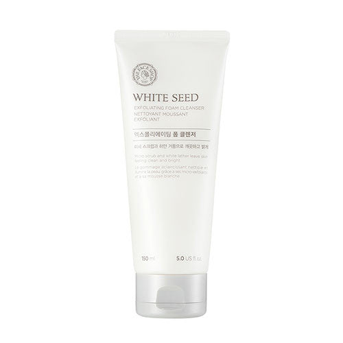 [The Face Shop] White Seed Exfoliating Foam Cleanser - Cosmetic Love