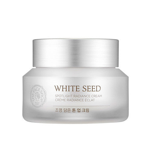 [The Face Shop] White Seed Spotlight Radiance Cream 50ml - Cosmetic Love