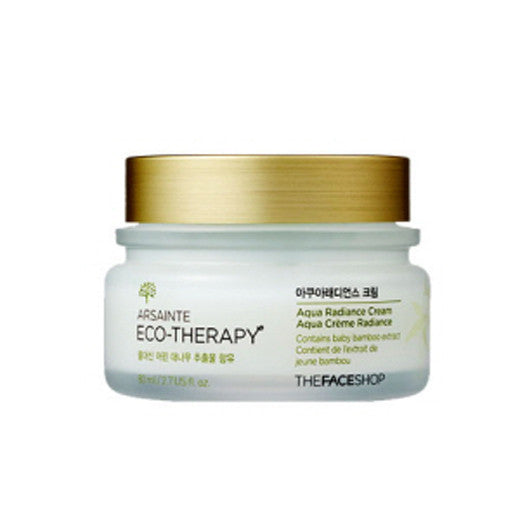 [The Face shop] Arsainte Ecotheraphy Aqua Radiance Cream 80ml - Cosmetic Love