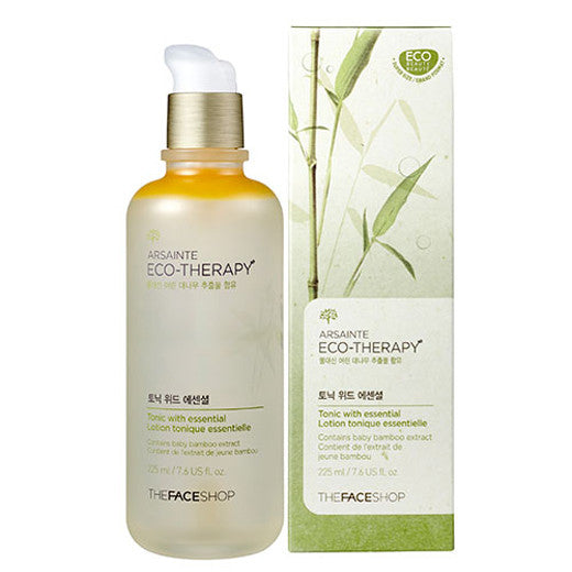 [The Face shop] Arsainte Ecotheraphy Tonic with essential 145ml - Cosmetic Love