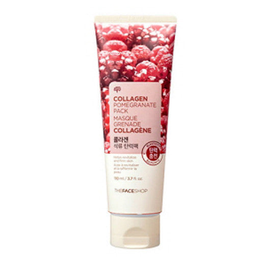 [The Face shop] Baby Face Collagen Pomegranate pack 110ml - Cosmetic Love