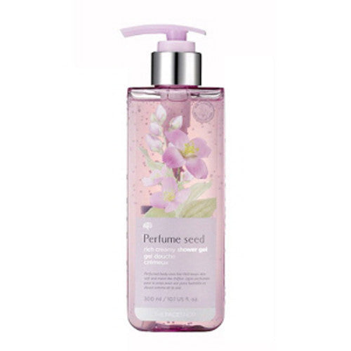 [The Face shop] Perfume Seed Rich Cremay Shower Gel 300ml - Cosmetic Love