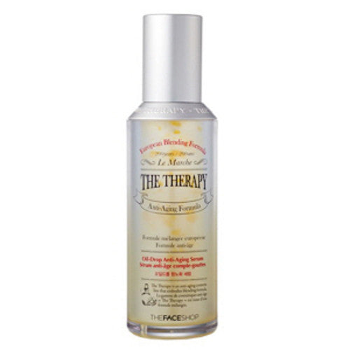 [The Face shop] The Therapy Oil Drop Anti Aging Serum 45ml - Cosmetic Love