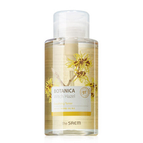 [The Saem] Botanica Witch Hazel Soothing Toner 400ml - Cosmetic Love