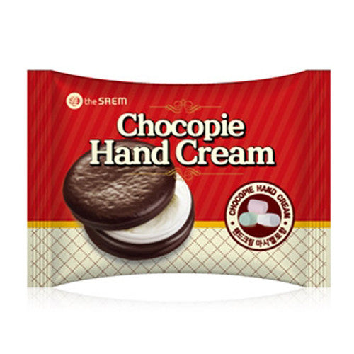 [The Saem] Chocopie Hand Cream Marshmallow 35ml - Cosmetic Love