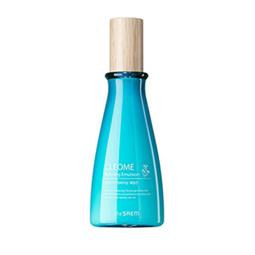 [The Saem] Cleome Refining Emulsion 140ml - Cosmetic Love