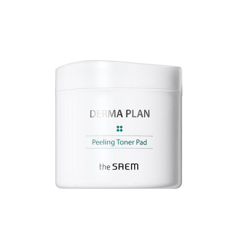 [The Saem] DERMA PLAN Peeling Toner Pad 130ml
