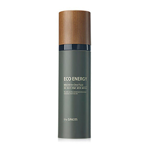 [The Saem] ECO ENERGY Mild All In One Fluid 130ml - Cosmetic Love