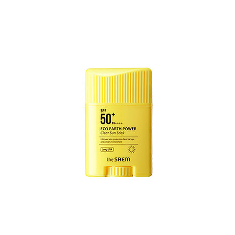 [The Saem] Eco Earth Power Clear Sun Stick 22g