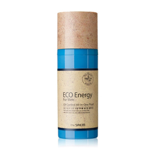 [The Saem] Eco Energy For Men Oil Control All in one Fluid 100ml - Cosmetic Love
