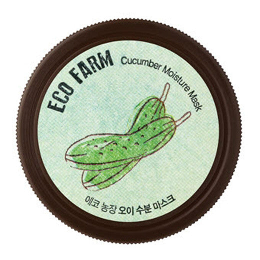 [The Saem] Eco Farm Cucumber Moisture Mask 95g - Cosmetic Love