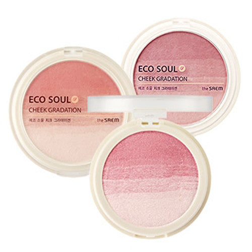 [The Saem] Eco Soul Cheek Gradation 9.5g - Cosmetic Love