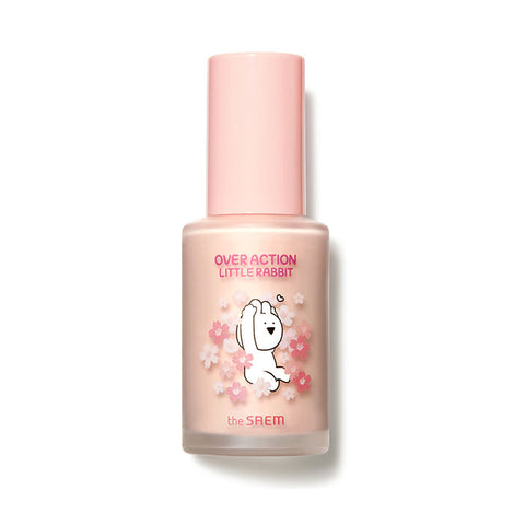 [The Saem] Eco Soul Peach Base (Over Action Little Rabbit) 30ml