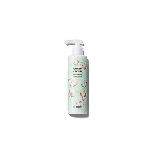 [The Saem] Garden Pleasure hand Cream Linen Cotton 250g