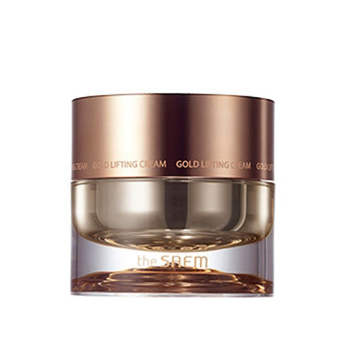 [The Saem] Gold Lifting Cream 50ml - Cosmetic Love