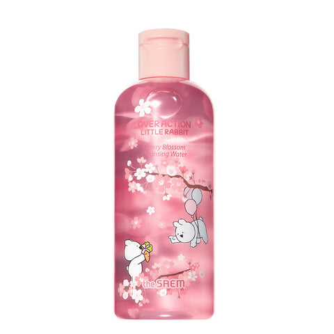 [The Saem] Healing Tea Garden Cherry Blossom Cleansing Water (Over Action Little Rabbit) 300ml