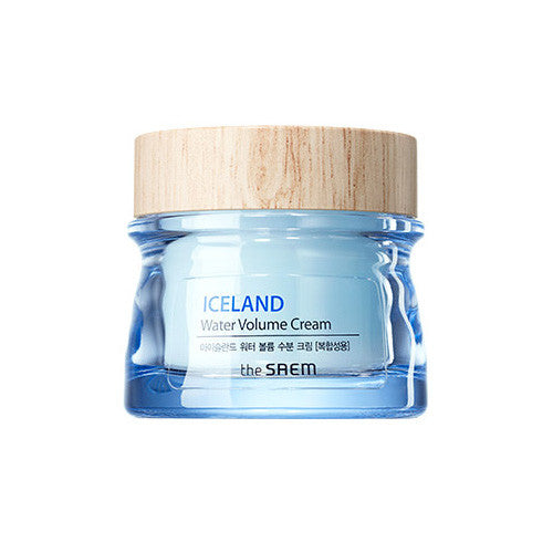 [The Saem] Iceland Water Volume Hydrating Cream(For Combination Skin) 80ml - Cosmetic Love