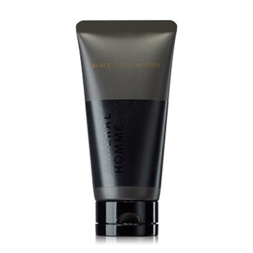[The Saem] Mineral Homme Black Cleansing Foam 150ml - Cosmetic Love