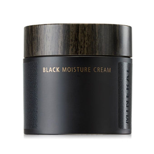 [The Saem] Mineral Homme Black Moisture Cream 80ml - Cosmetic Love