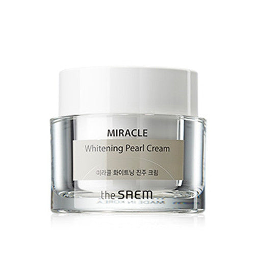 [The Saem] Miracle Whitening Pearl Cream - Cosmetic Love