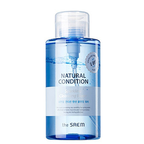 [The Saem] Natural Condition Sparkling Cleansing Water 500ml - Cosmetic Love