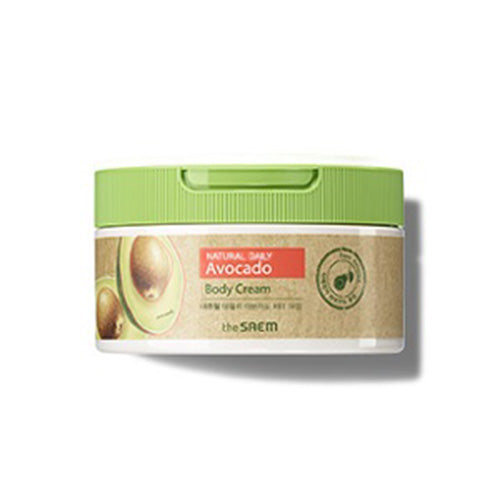 [The Saem] Natural Daily Avocado Body Cream 300ml