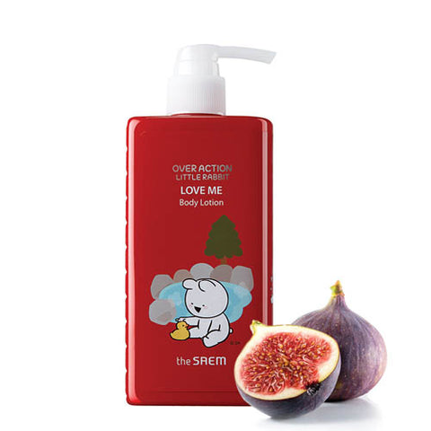 [The Saem] Over Action Little Rabbit Edition-Love Me Body Lotion 300ml