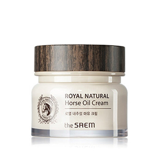 [The Saem] Royal Natural Horse Oil Cream 80ml - Cosmetic Love