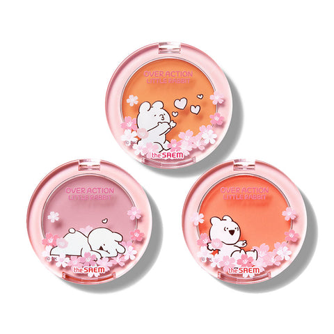 [The Saem] Saemmul Single Blusher (Over Action Little Rabbit) 5g