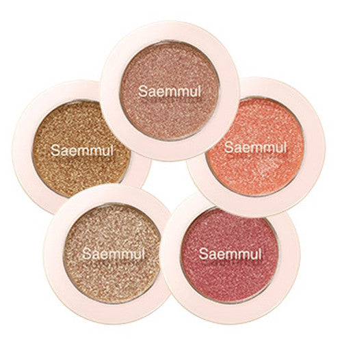 [The Saem] Saemmul Single Shadow (Glitter) 2g - Cosmetic Love