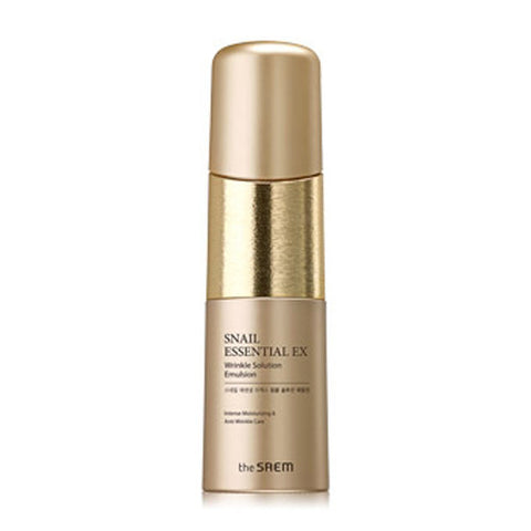 [The Saem] Snail Essential EX Wrinkle Solution Emulsion 150ml - Cosmetic Love