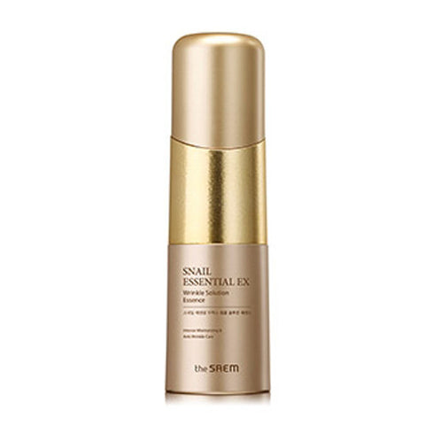 [The Saem] Snail Essential EX Wrinkle Solution Essence 50ml - Cosmetic Love