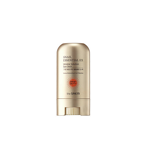 [The Saem] Snail Essential EX Wrinkle Solution Sun Stick 16g