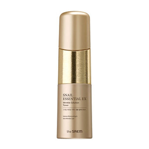[The Saem] Snail Essential EX Wrinkle Solution Toner 150ml - Cosmetic Love