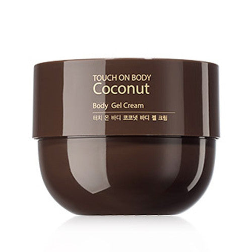 [The Saem] Touch On Body Coconut Body Gel Cream 300g - Cosmetic Love