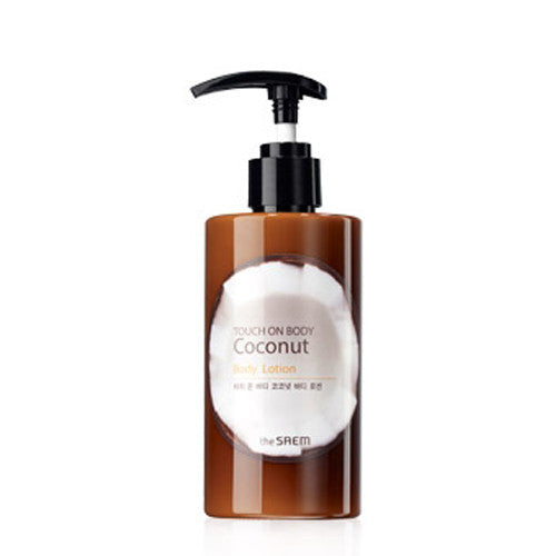 [The Saem] Touch On Body Coconut Body Lotion 260ml - Cosmetic Love