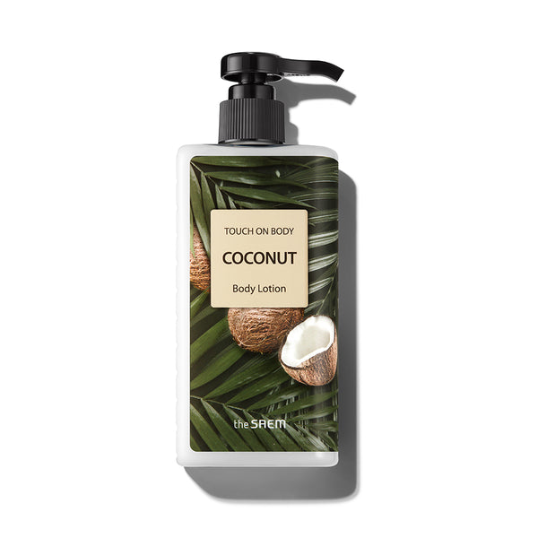 [The Saem] Touch On Body Coconut Body Lotion 300ml
