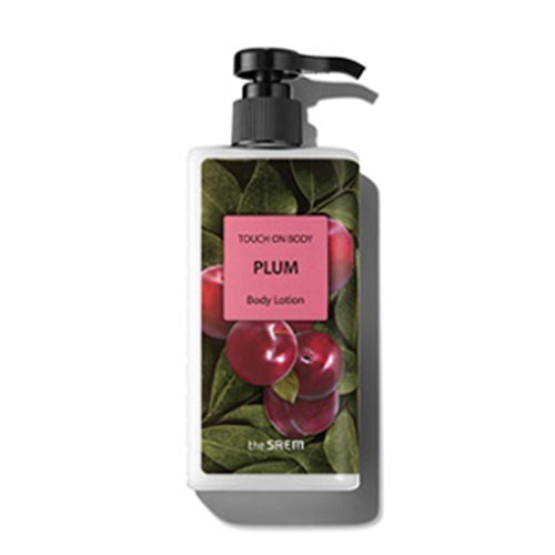 [The Saem] Touch On Body Plum Body Lotion 300ml