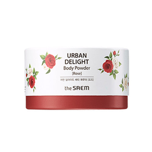 [The Saem] URBAN DELIGHT Body Powder [Rose] 50g