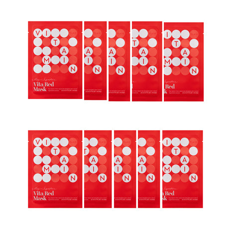 [Tiam] My Signature Vita Red Mask 23ml x 10ea