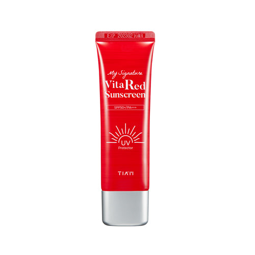 [Tiam] My Signature Vita Red Sunscreen 50ml