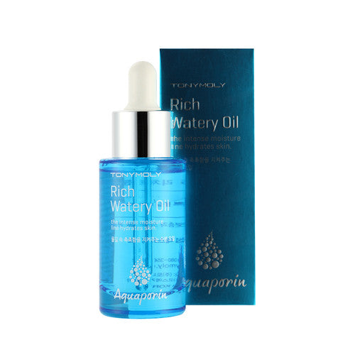 [Tonymoly] Aquaporin Rich Moisture Oil 30ml - Cosmetic Love