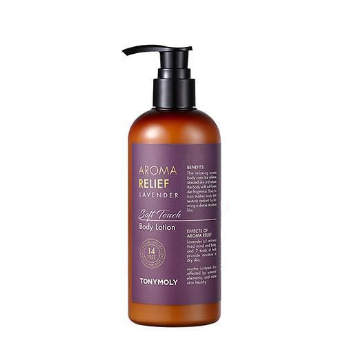 [Tonymoly] Aroma Relief Lavender Body Lotion 300ml