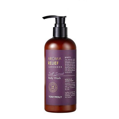 [Tonymoly] Aroma Relief Lavender Body Wash 300ml