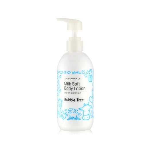 [Tonymoly] Bubble Tree Milk Soft Body Lotion 300ml - Cosmetic Love