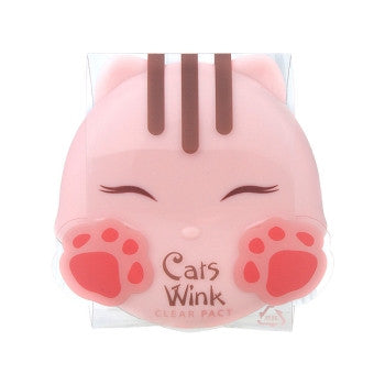 [Tonymoly] Cats Wink Clear Pact - Cosmetic Love