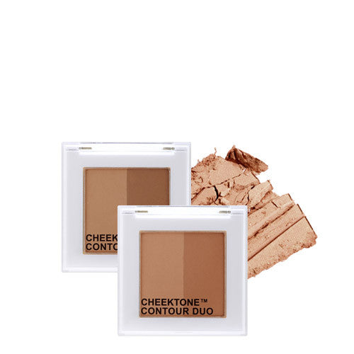 [Tonymoly] Cheek Tone Contour Duo - Cosmetic Love